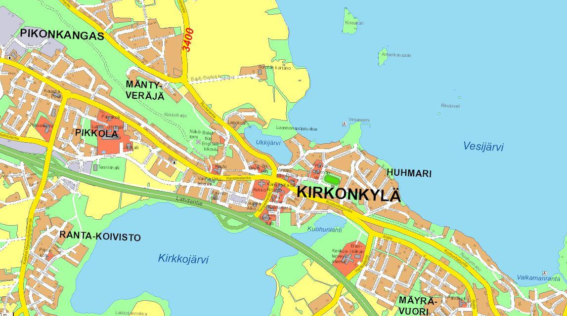 Kartat Kangasala