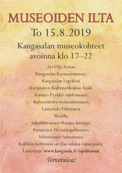 Museoioden ilta 2019