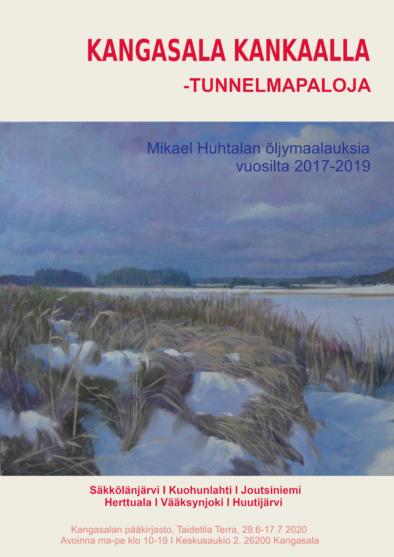 Mikael Huhtalan näyttelyjuliste