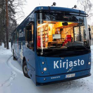 Kirjastoauto Kotikujan konsta