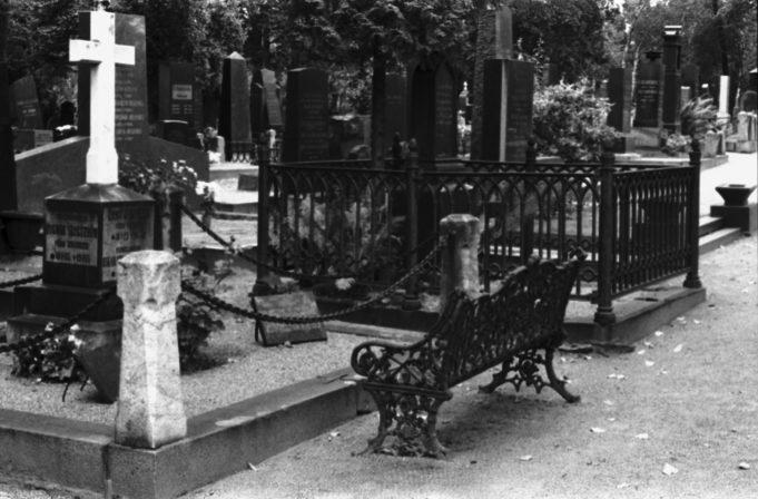 Hietaniemen hautausmaa. Näkymä Hietaniemen vanhalta hautausmaalta.