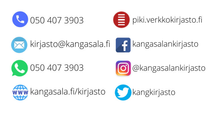 Kirjaston verkko-osoitteita ja puhelinnumeroita
