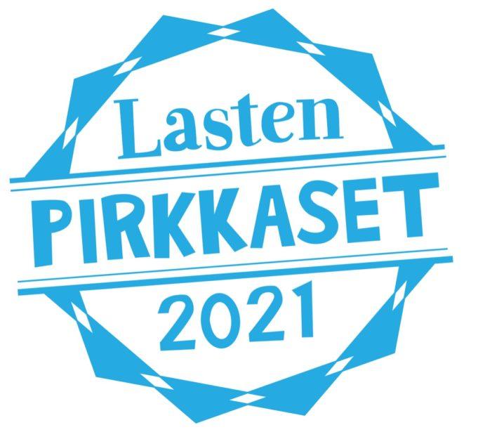 Lasten Pirkkaset 2021 -tapahtuman logo
