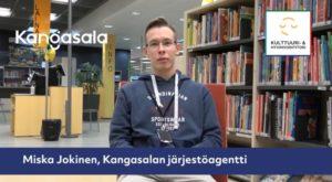 Kuvassa järjestöagentti Miska Jokinen
