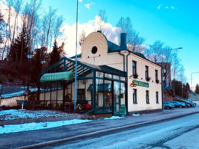 Kuvassa ravintola Paakari